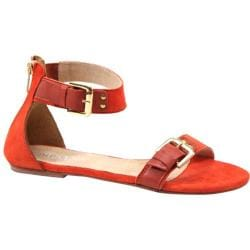 Women's Diba True Car Rah Orange Suede/Leather