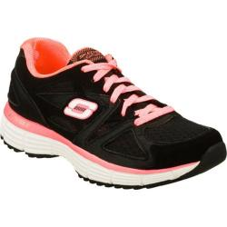Women's Skechers Agility Free Time Black/Coral