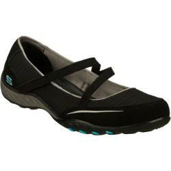 Women's Skechers Relaxed Fit Breathe Easy Quittin Time Black