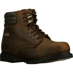 Men's Skechers Work Relaxed Fit Roarke ST Brown