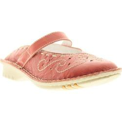 Women's Spring Step Growth Red Leather