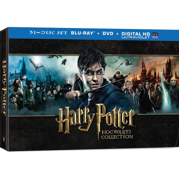 Harry Potter Hogwarts Collection (Blu-ray/DVD) 12726883
