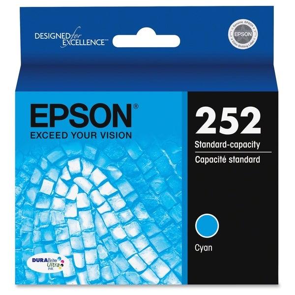 Epson DURABrite Ultra T252220 Ink Cartridge - Cyan