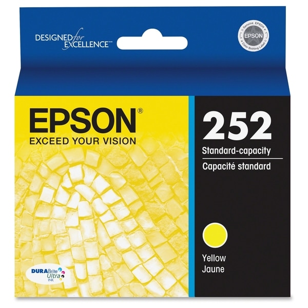 Epson DURABrite Ultra T252420 Ink Cartridge - Yellow 12727478