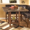 Signature Design by Ashley Square Brown Dining Table