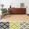 Flatweave Ledbury Moroccan Cotton Rug (7'6 x 9'6)