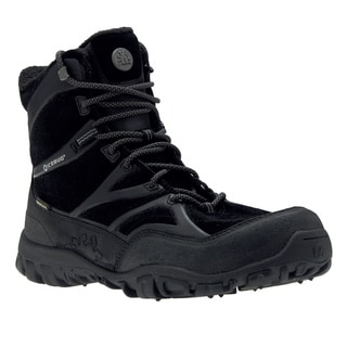 IceBug Men's 'Alder' Black BUGrip Mid-cut Hiking Boots
