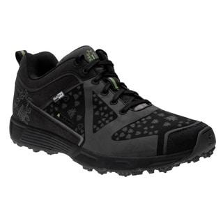 IceBug Men's 'DTS BUGrip Outdry' Black Nylon Lace-up Shoes