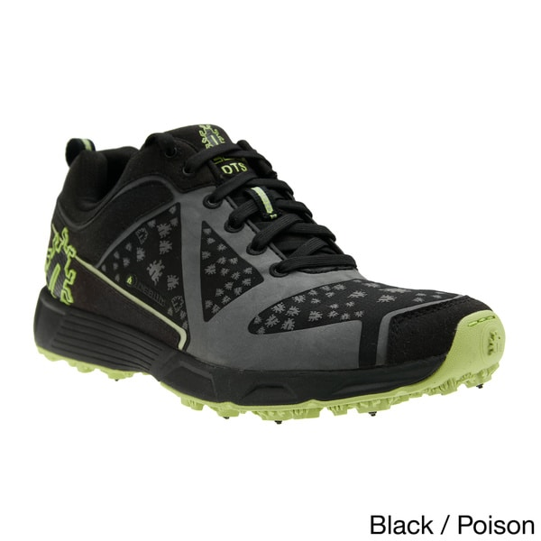 IceBug Men's DTS BUGrip Black/Poison Trainer Shoes