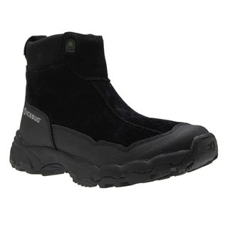 IceBug Men's 'Metro' Black Suede Ankle Boots