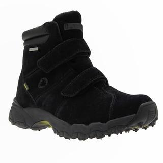 IceBug Men's 'Ryum' BUGrip Black Suede Mid-cut Hiking Boots