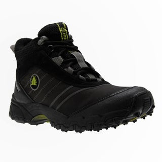 IceBug Men's 'Jokk' Black BUGrip Mid-cut Walking Boots