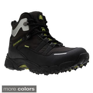 IceBug Men's 'Speed' Black BUGrip Lightweight Sport Boots