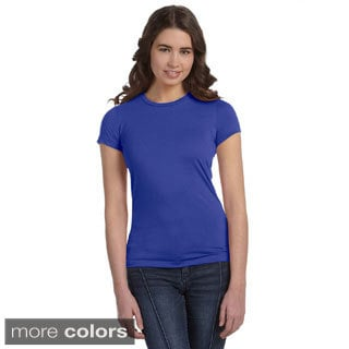 Bella Women's Poly Cotton Short Sleeve T-shirt