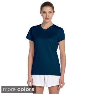 New Balance Women's Endurance Athletic V-neck T-shirt