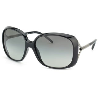 Burberry Women's BE 4068 300111 Shiny Black Sunglasses