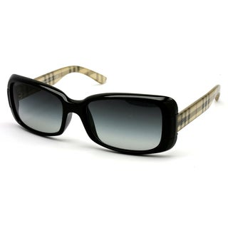 Burberry Women's BE 4087 30018G Black Sunglasses
