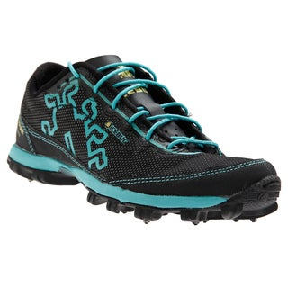 IceBug Women's SPIRIT2-L OLX Black/Aqua Trail Running Shoes