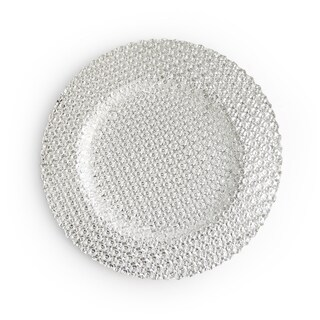 Carmen Silver Charger Plate