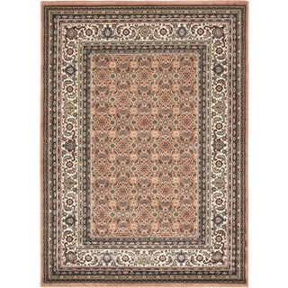 Medallion Style Copper Rug (5'6 x 7'6)