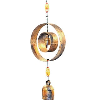 Handmade Circles Wind Chime (India)