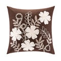 Harbor House Lynnwood Cotton Emboridered 18-inch Throw Pillow