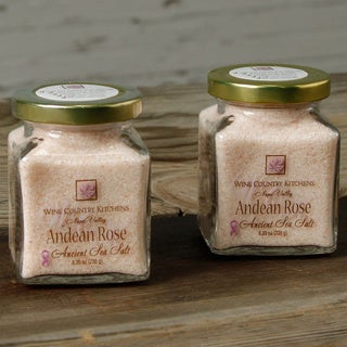 Wine Country Kitchen Andean Rose Ancient Sea Salt (Set of 2)
