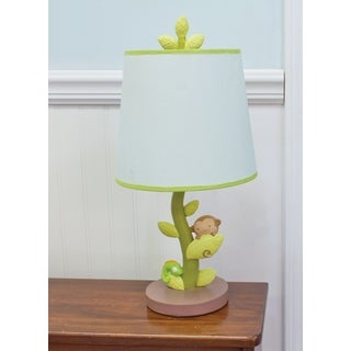 Nurture Imagination Swing Nursery Lamp Base and Shade