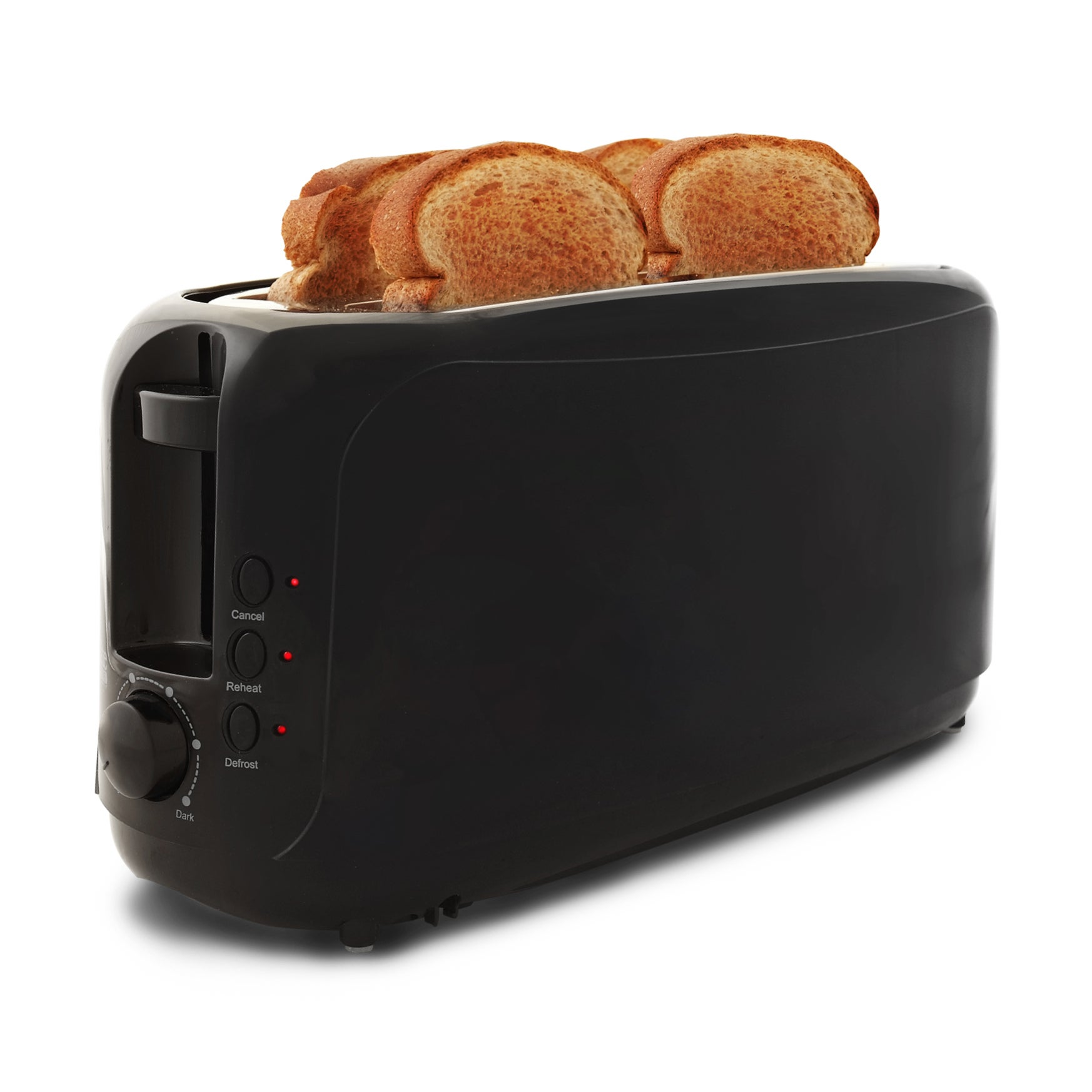 4 slice long slot cool touch toaster overstock shopping - Cool touch exterior convection toaster oven ...