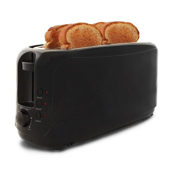 4-slice Long Slot Cool Touch Toaster