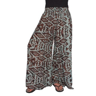 Handmade Women's Ultra Wide-leg Pants (Indonesia)