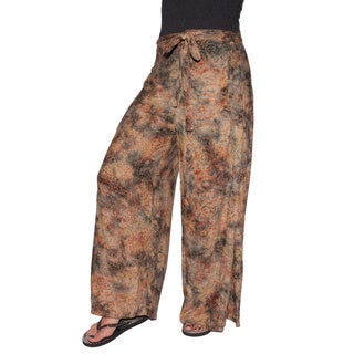 Handmade Side Slit Women's Lounge Pants (Indonesia)