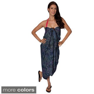 Women's Mira Printed Sarong and Buckle (Indonesia)