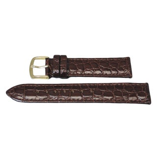 Hadley Roma Genuine Leather Watch Strap