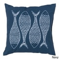 Fish Scales Indoor/Outdoor Decorative Throw Pillow