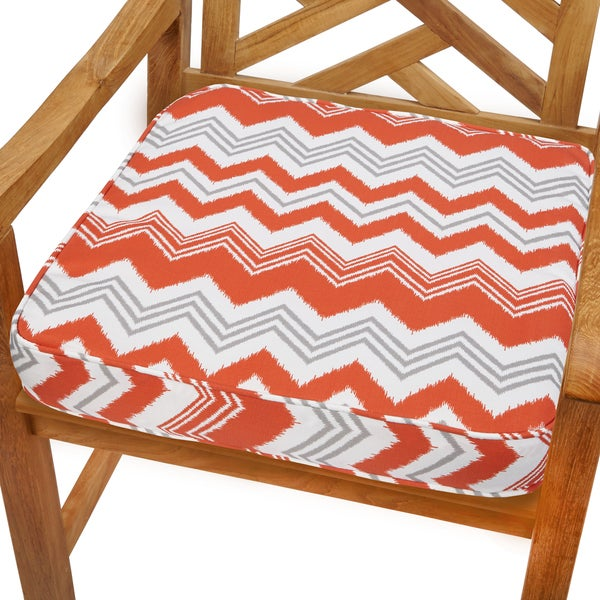Tango Zazzle 19-inch Indoor/ Outdoor Corded Chair Cushion
