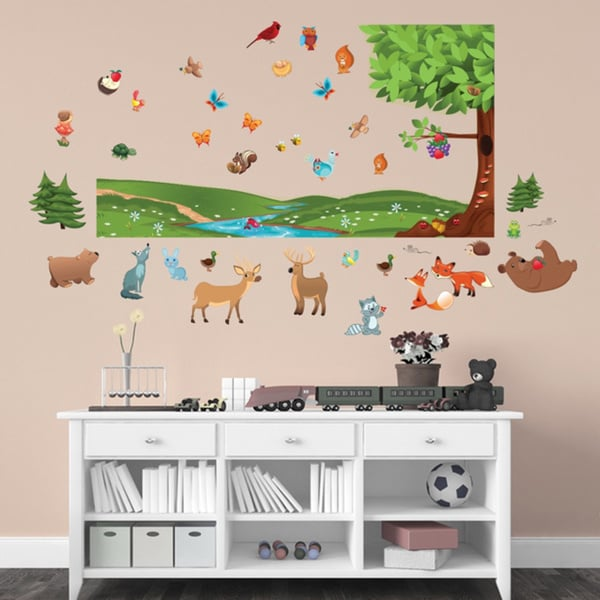 Forest Interactive Wall Play Set