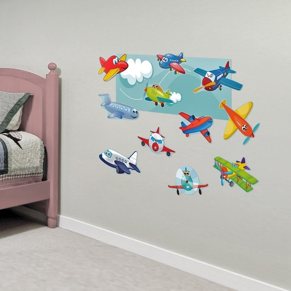 Planes Interactive Wall Play Set