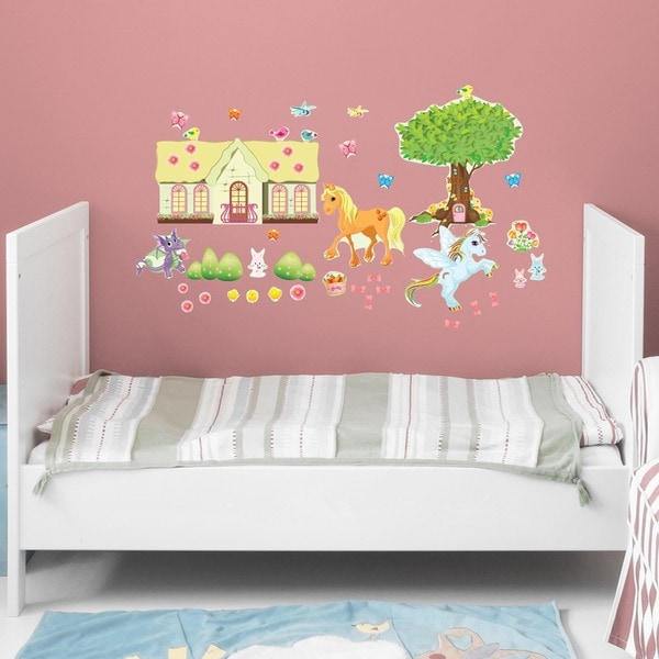Pony Friends Wall Play Set