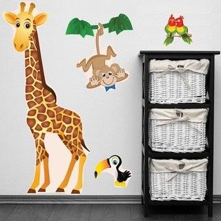 PEEL & STICK BIG Giraffe Decal