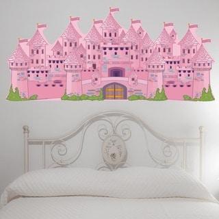 PEEL & STICK BIG Princess Castle Decal