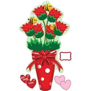Peel & Stick Bee Bouquet