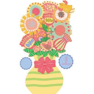 Peel & Stick Flower Garden Bouquet