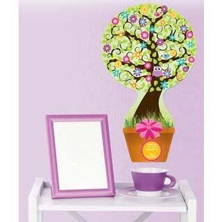 Peel & Stick Flower Tree Bouquet