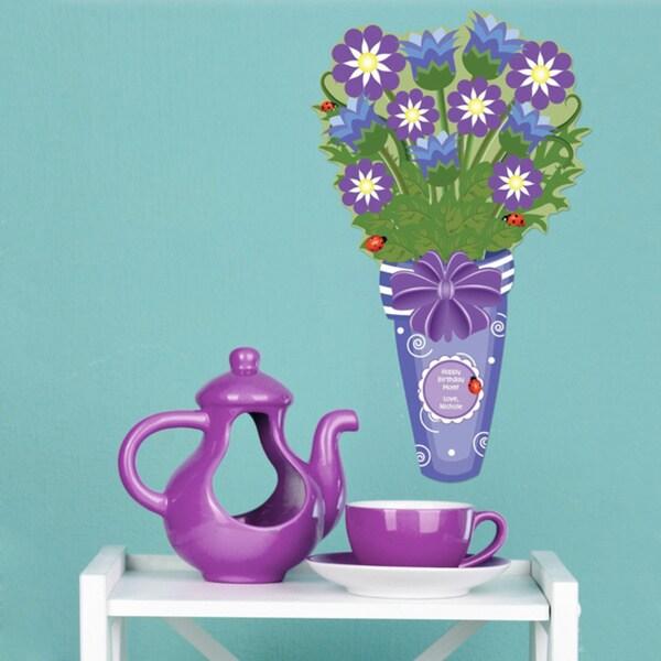 Peel & Stick Ladybug Bouquet