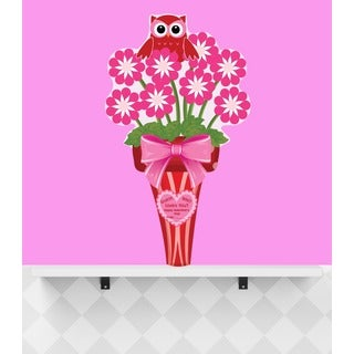 Peel & Stick Owl Bouquet