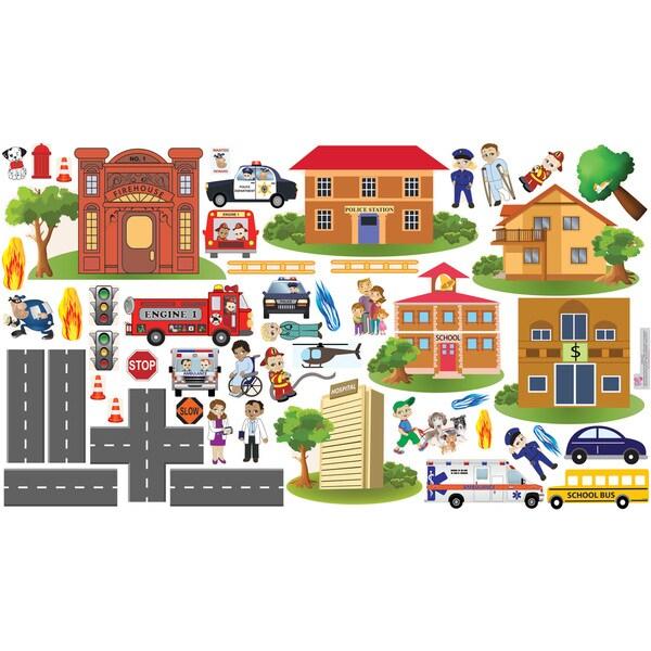 Peel, Play & Learn Community Heroes Play Set