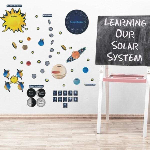 Peel, Play & Learn Solar System Play Set