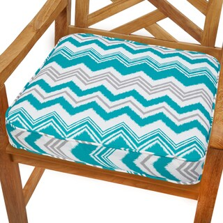 Tropic Zazzle 19-inch Indoor/ Outdoor Corded Chair Cushion