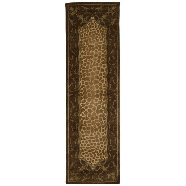 Nourison Versailles Palace Brown Rug (2'3 x 8)